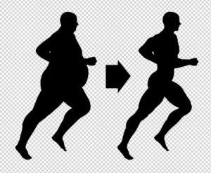 running fat to thin